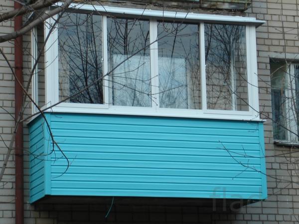 Окна, Балконы-Лоджии под ключ любым материалом
