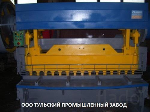 Ножницы гильотинные Н478 16х2200мм продаём после капитального ремонта