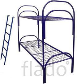 кровати армейские одноярусные, кровати металлические, кровати