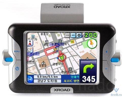 Tibo s-1000 GPS навигатор