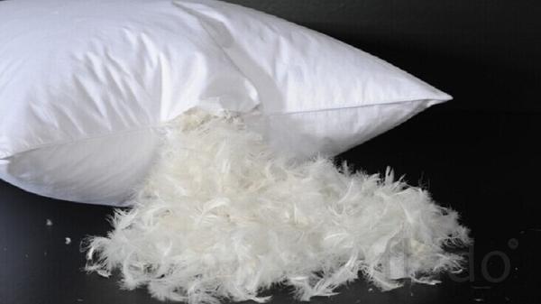 Подушки, одеяла, матрасы, наполнитель (пух, перо)