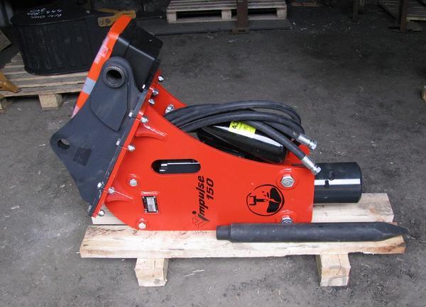 Навесной гидромолот для экскаватора погрузчика