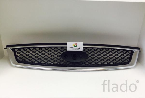 Решетка радиатора хром Форд Фокус 2 дорестайл