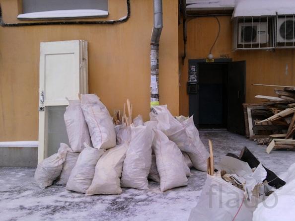 вывоз строительного мусора  т 464221