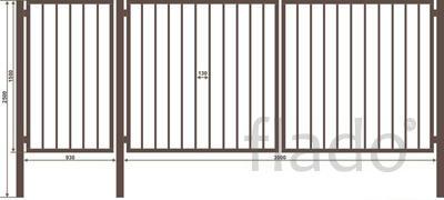 Ворота и калитки Миллерово