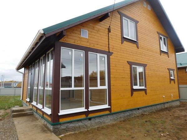 Дом 200 м² на участке 12 сот.