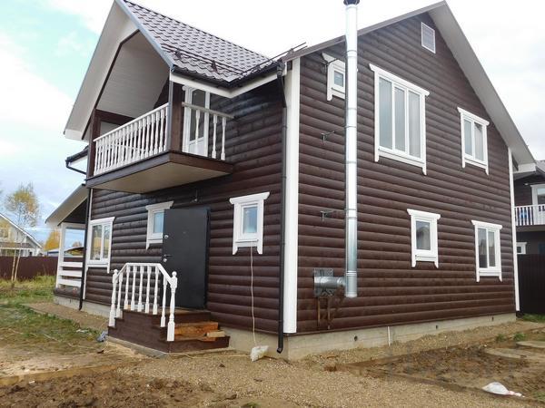 Дом 170 м² на участке 8 сот.
