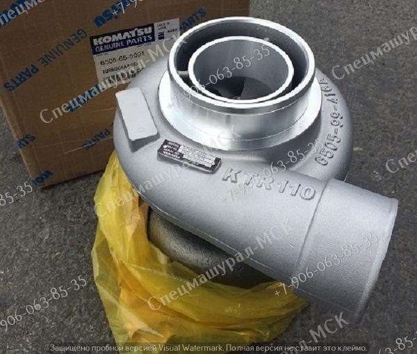 Турбина 6505-65-5091 для Komatsu РС 750