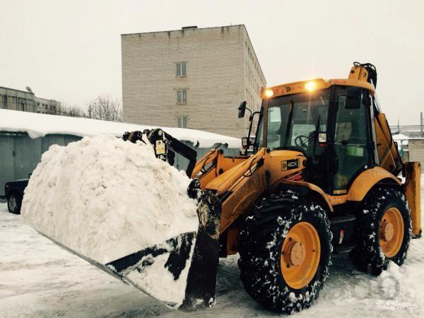 Уборка снега в Люберецком ,Раменском районах
