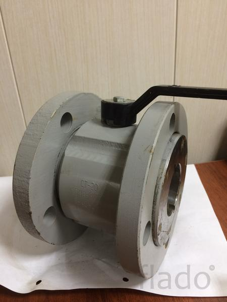 Кран шаровой стальной фланцевый КШ 50.16.3110 Ду50 Ру16