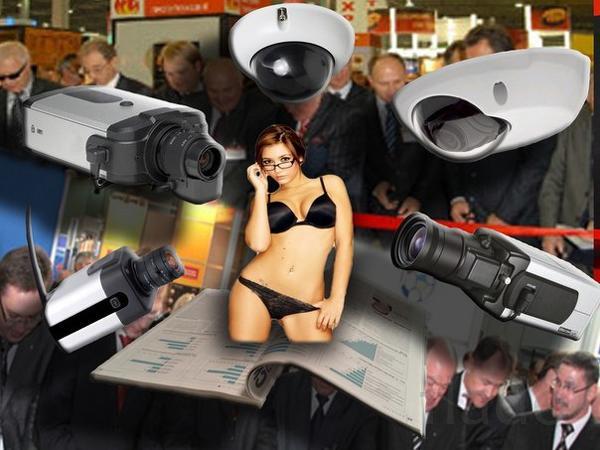 Установка систем видеонаблюдения и безопасности