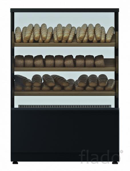 Кондитерская витрина хлебная 1,3 Carboma Cube ТЕХНО