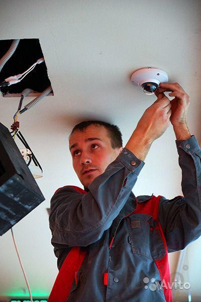 Установка видеонаблюдения любой объект.