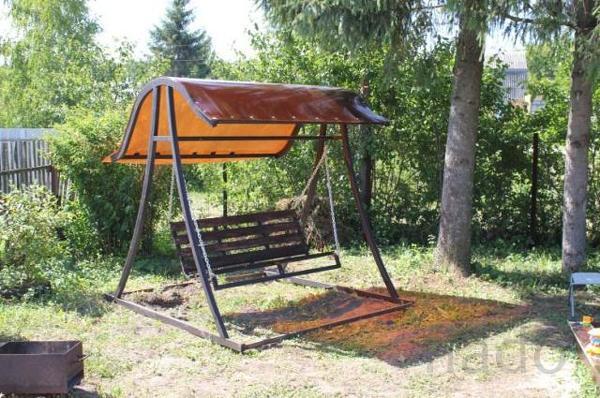 Реализуем садовые качели в Казани