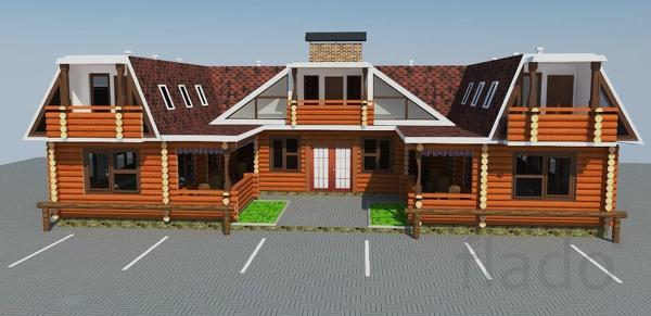 Строим постоялый двор с харчевней