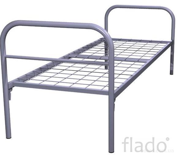 Кровать металлическая двуспальная
