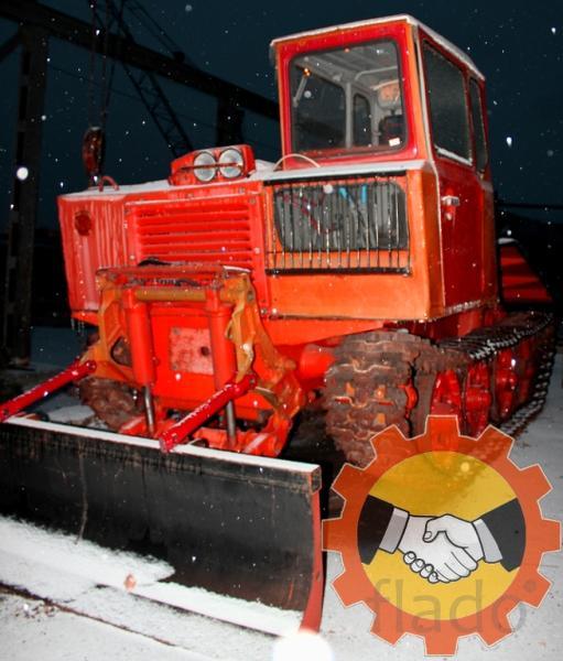 Трелевочные тракторы ТДТ-55 и ТТ-4