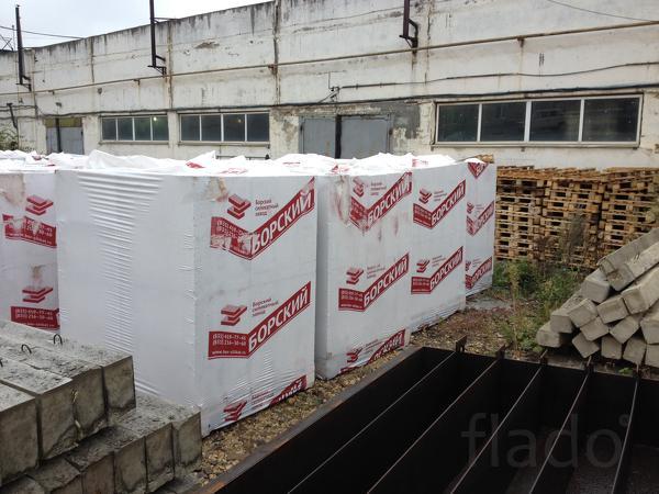 Газосиликатный блок 600х200х300 - Газоблок - Борский
