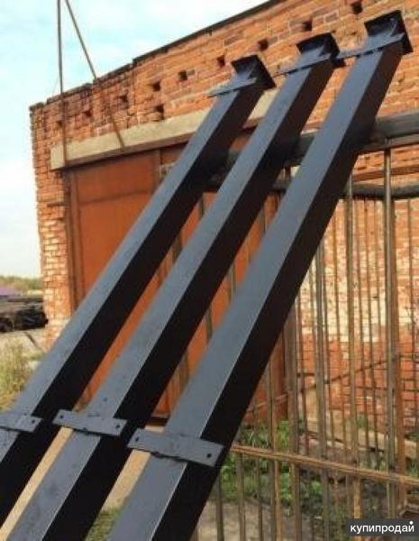 Металлические столбы для заборов с доставкой