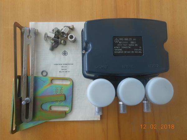 Позиционер пневматический ППС-100.25.В для МИМ-320, МИМ-400