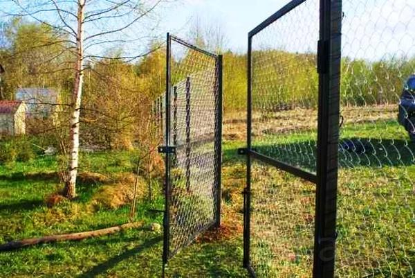 Ворота садовые, калитки, секции для забора. Доставка бесплатная