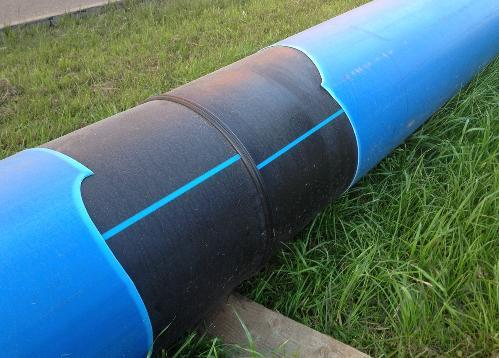 Оборудование со-экструзии защитного слоя на пластиковые трубы