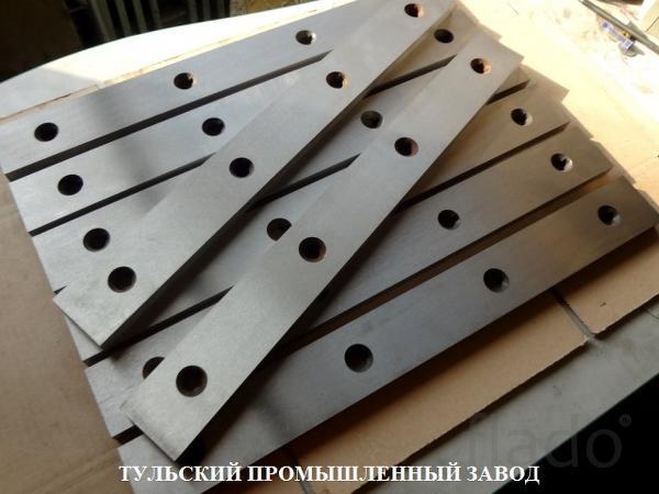 Новые гильотинные ножи 510х60х20мм, 520х75х25мм, 590х60х16мм, 540х60х1
