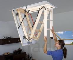 Лестница чердачная FAKRO Komfort Plus (LWK 60)