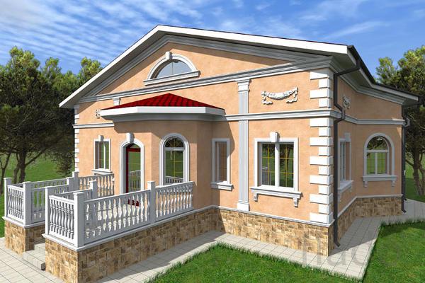 дизайн проект фасада