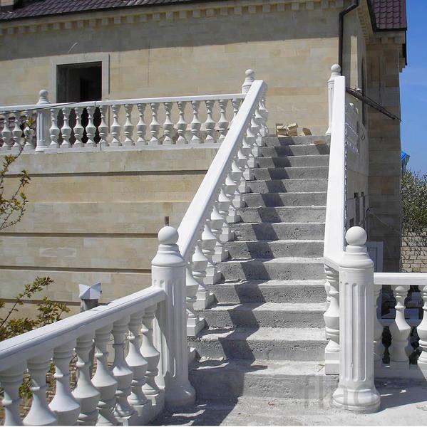 ограждение для лестниц из бетона