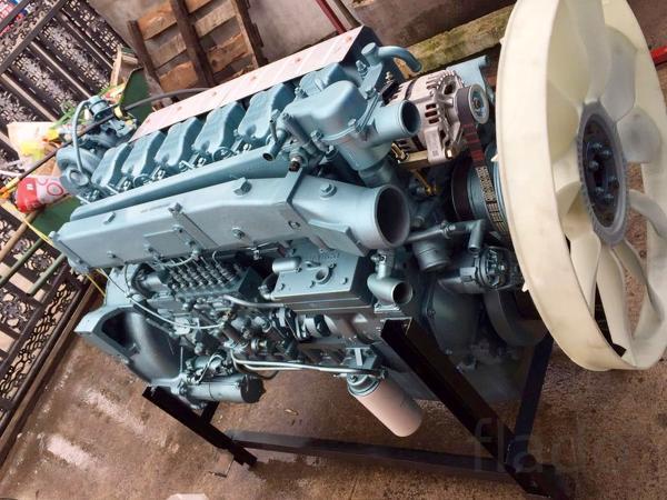 Двигатель WD615.47 в наличии, оригинальный