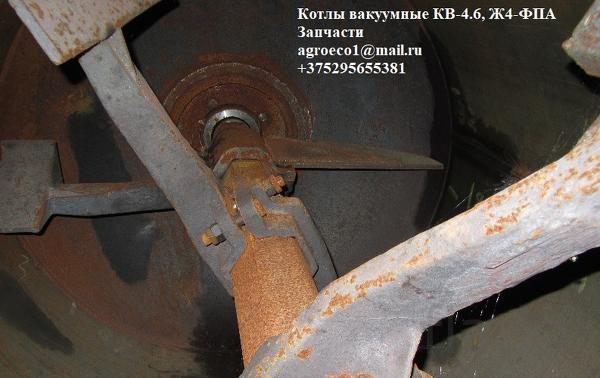 Котёл вакуумный КВ-4,6М для производства животных кормов