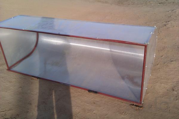 Парник из поликарбоната в Алуште