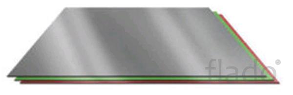 Плоский лист 2м 0,45мм цинк, цветной, лист
