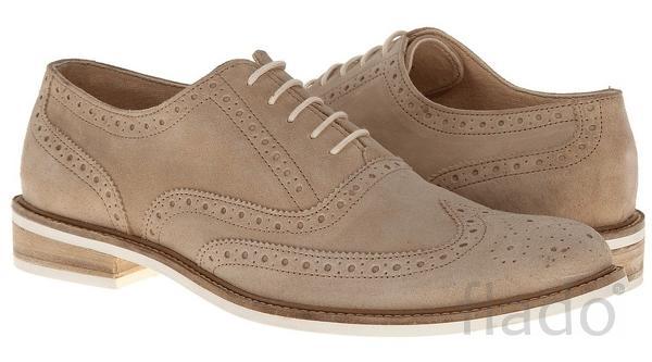 Туфли мужские замшевые Intrigo® Wingtip