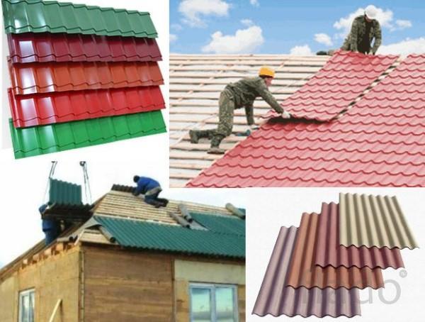 Крыша под ключ, материал+монтаж экономно, м2
