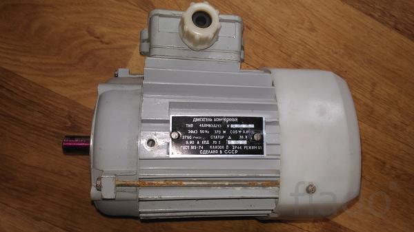 Электродвигатель 0.37 квт 2750 об 36 V