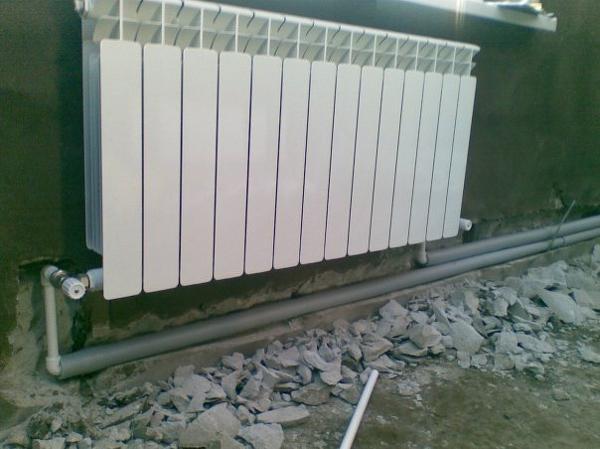 Монтаж отопления    частных домах в Чебоксарах.