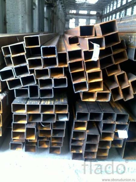 Продаем профильную трубу 6м различного сечения и толщиной