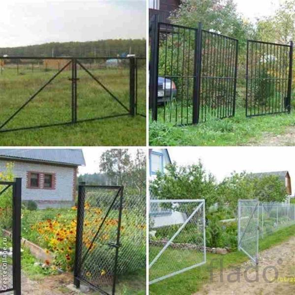 ворота и калитки разных размеров