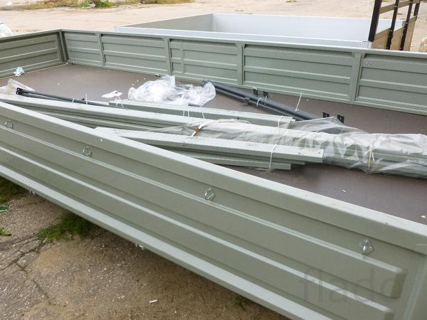 Бортовая платформа кузов газ 330202 Газель Некс усиленная г/п 2.5 т