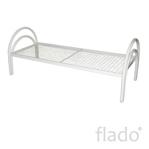 Кровать металлическая белая кровати для гостиниц