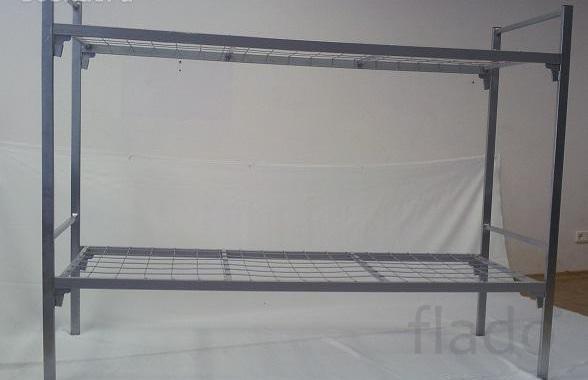 Кровать двухъярусная взрослая металлическая Кровати металлические