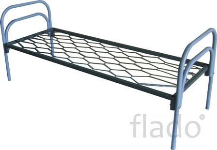 Кровать с металлической спинкой Кровати одноярусные