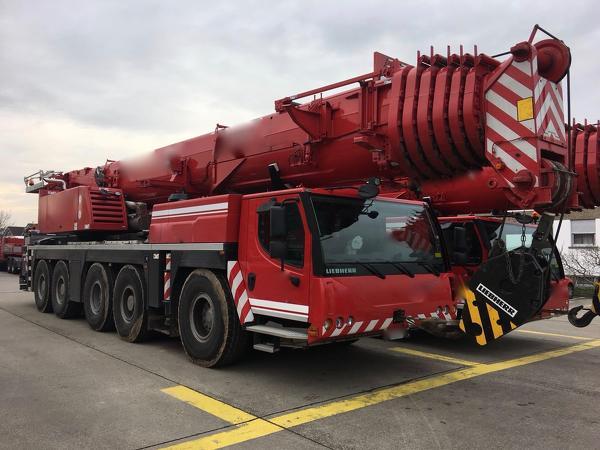 Libherr LTM 1200-5.1 2012 года выпуска под заказ с Европы