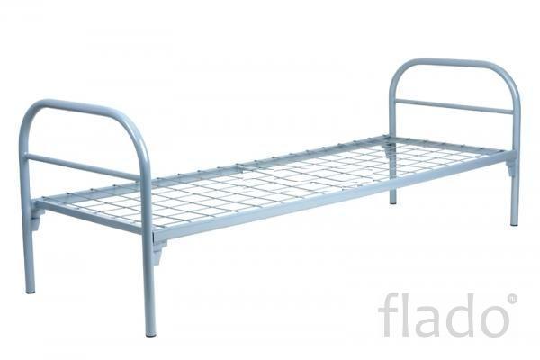 Кровати 2 ярусные металлические оптом дешево