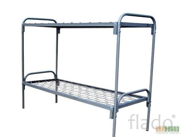 Кровать металлическая 140х200 для пансионата
