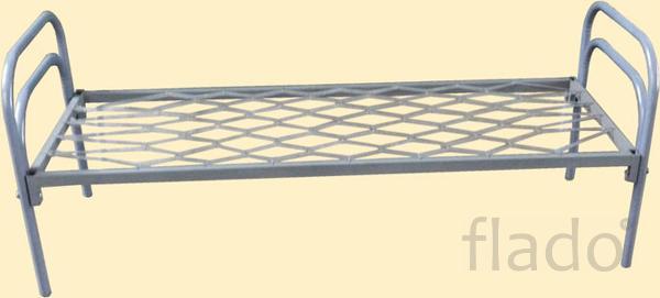Одноярусные металлические кровати недорого