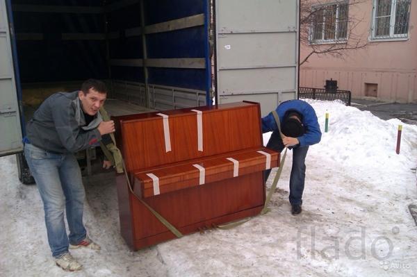 Доставка и подъём мебели в Омске.