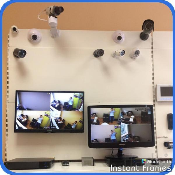 Видеонаблюдение, системы контроля доступа